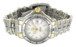 TAG HEUER LADIES TWO TONE GOLD COLOR STEEL WATCH DATE WH1351 K1 WRISTWATCH