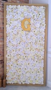 Wedding Flower Wall 8ftx4.5ft