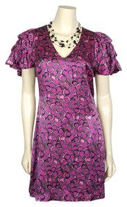 Plenty by Tracy Reese short dress purple on Tradesy