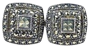 Judith Jack Judith Jack Sterling silver Marcasite Earrings