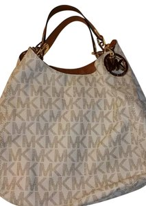 Michael Kors Hamilton Sutton Selma Tote in White