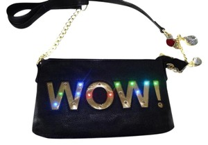 Betsey Johnson Light Up Cross Body Bag