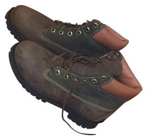 Timberland Brown/Green Boots