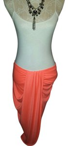 Rue 21 Beachwear Maxi Maxi Skirt Orange