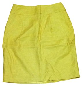 Forever 21 Skirt Mustard Yellow