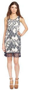 Band of Gypsies short dress Blue Fringe Tribal Print on Tradesy