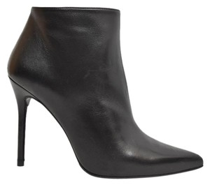 Stuart Weitzman Bootie Heel black EMBOSSED LEATHER Boots