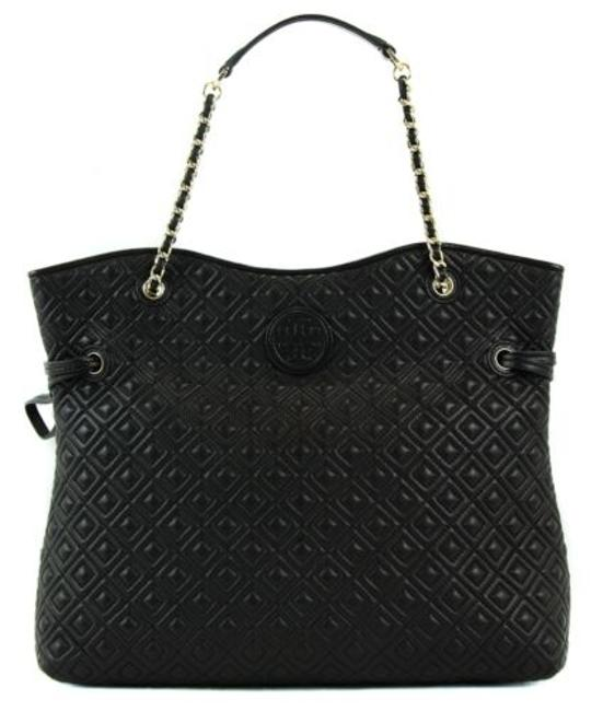 Item - Marion Quilted Slouchy Tote Black