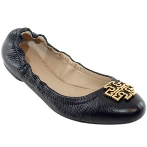 Tory Burch Melinda Leather Black Flats