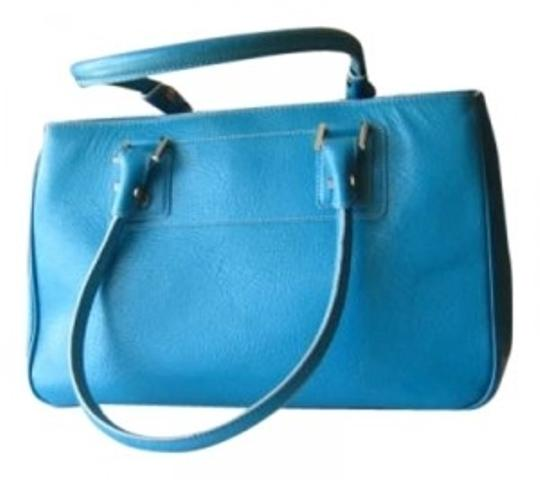 Preload https://item3.tradesy.com/images/nordstrom-tote-shopper-ocean-blue-leather-with-jaquard-lining-tote-166422-0-0.jpg?width=440&height=440