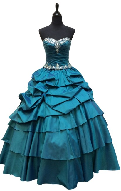 Mori Lee Quinceanera Quince Quince Vizcaya Sweet 16 Xv Xvi Princess Ball Gown Beaded Dress