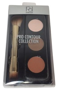 PAULA DORF Pro Contour Collection Set With Dual Sided Cosmetic Brush
