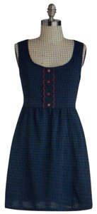 Tulle short dress Blue and red on Tradesy