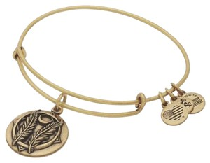 Alex and Ani Alex and Ani Godspeed Rafaelian Gold Charm Bracelet