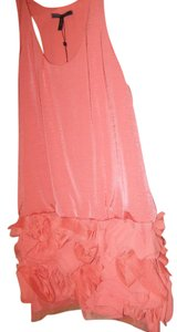 BCBGMAXAZRIA short dress Coral Pinkish Size Large on Tradesy