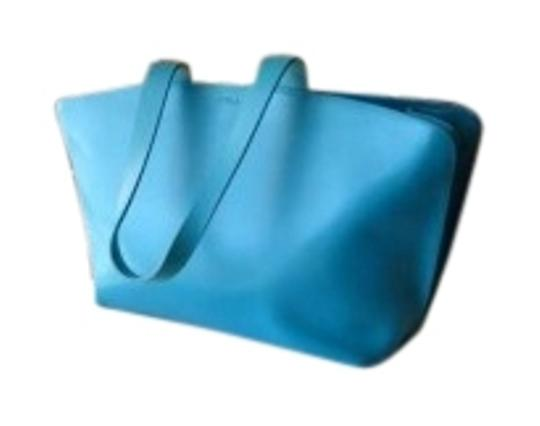 Preload https://item3.tradesy.com/images/furla-large-tote-tiffany-blue-smooth-finish-leather-satchel-166432-0-1.jpg?width=440&height=440
