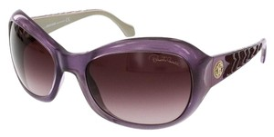 Roberto Cavalli Roberto Cavalli Purple Rectangular Sunglasses