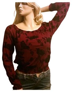 INC International Concepts Cloral Fall Winter Lace Sweater