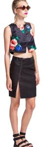 Very J Mini Skirt Black