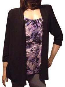 JM Collection Blazer Layer Work Tunic