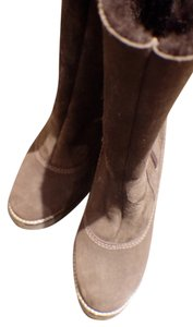 La Canadienne Leather Winter Brown Boots