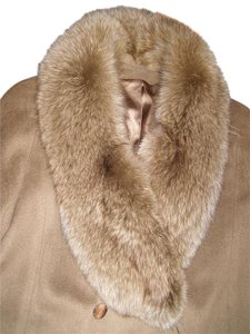 Gemini Wool Full Length Fur Fur Coat