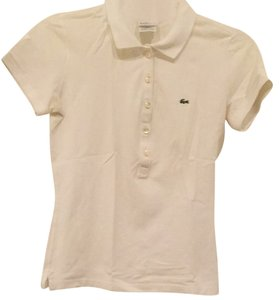 Lacoste Button Down Shirt White