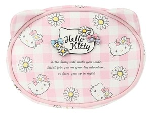 Sanrio Hello Kitty Face Pouch: Daisy Patch by Sanrio