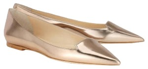 Jimmy Choo Rose Gold Flats