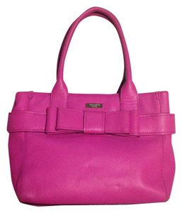 Kate Spade Leather Tote in Pink