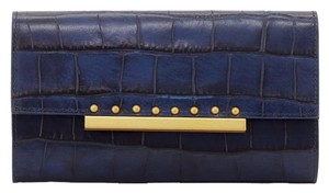 Badgley Mischka Badgley Mischka Jenna Crocodile-Embossed Wallet