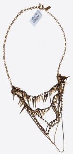 Preload https://item2.tradesy.com/images/madewell-goldbronze-chain-necklace-16646-0-0.jpg?width=440&height=440