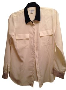 Bar III Button Down Shirt Beige