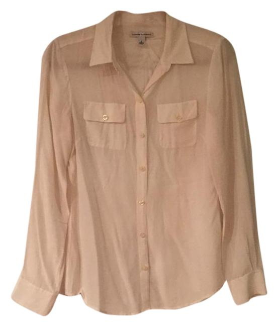Preload https://item3.tradesy.com/images/banana-republic-cream-silk-button-down-top-size-8-m-1664877-0-2.jpg?width=400&height=650
