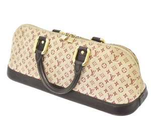 Louis Vuitton Satchel in Pink/brown