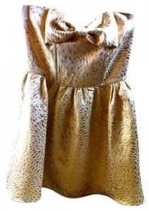 Forever 21 As Seen On Bow Mini Shimmery Formal Homecoming Prom Dress