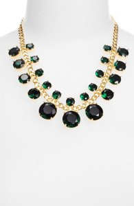 Kate Spade NWT Kate Spade Kate Spade Crystal Cort Green Necklace MSRP $248