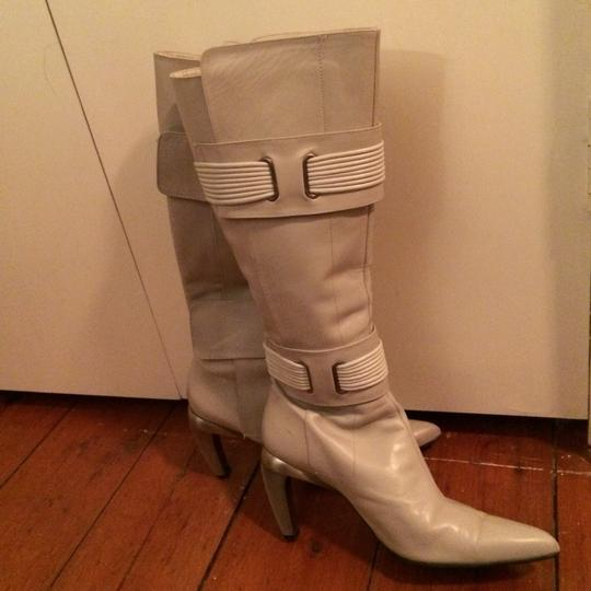 Diesel Bone White Platforms