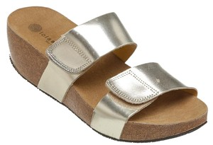 Lola Sabbia for Eric Michael Gold Wedges