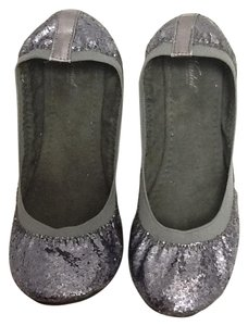Wanted Sparkle Flat Ballerina Blue Flats