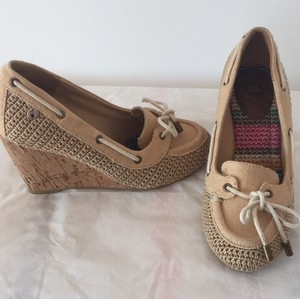 The Sak Beige Wedges
