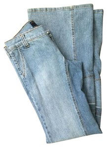Juicy Couture Retro Vintage Bell Bottom Boho Flare Leg Jeans-Light Wash