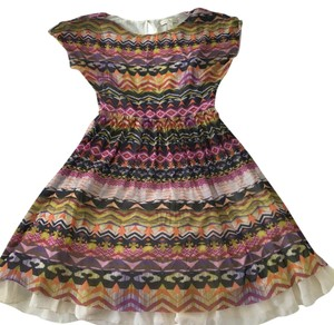 Weston Wear short dress Multi Anthropologie Summer Fit And Flair Cap Sleeve Party on Tradesy