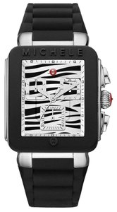 Michele BRAND NEW MICHELE Jelly Bean PARK SILVER/ BLACK