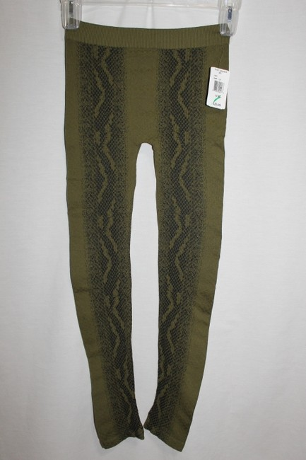 Poof Apparel Green/Black Leggings