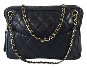 Chanel Quilted Lambskin Medium Shoulder Bag