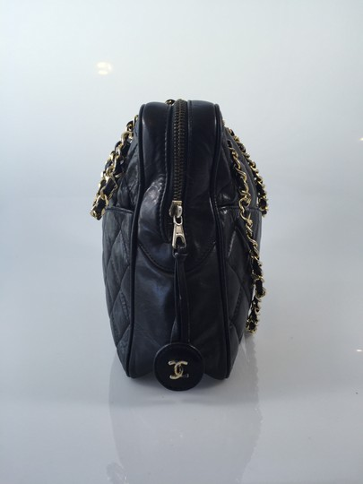 Chanel Quilted Lambskin Medium Camera Shoulder Bag