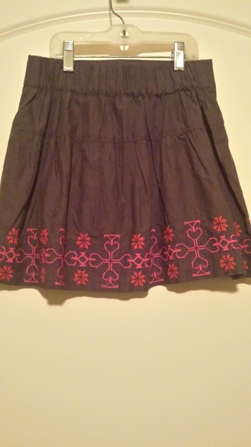 American Eagle Outfitters Mini Skirt Gray and pink