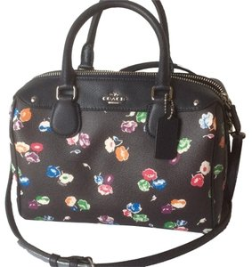 Coach Satchel in Rainbow Multicolor