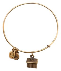 Alex and Ani Alex and Ani Adjustable Bracelet w/Schoolhouse Charms
